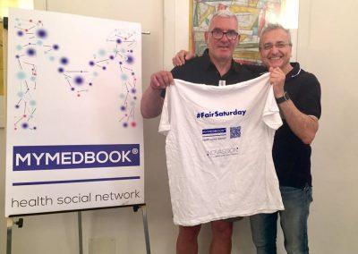 MyMedBook sponsor di Sandro sfida il Parkinson