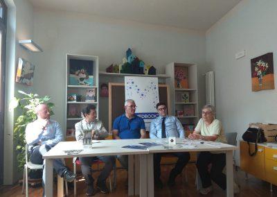 Conferenza stampa per presentare il viaggio di Sandro