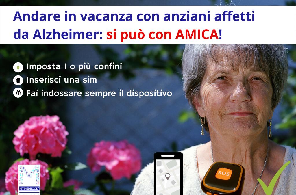 Andare in vacanza con anziani affetti da Alzheimer: si può con AMICA